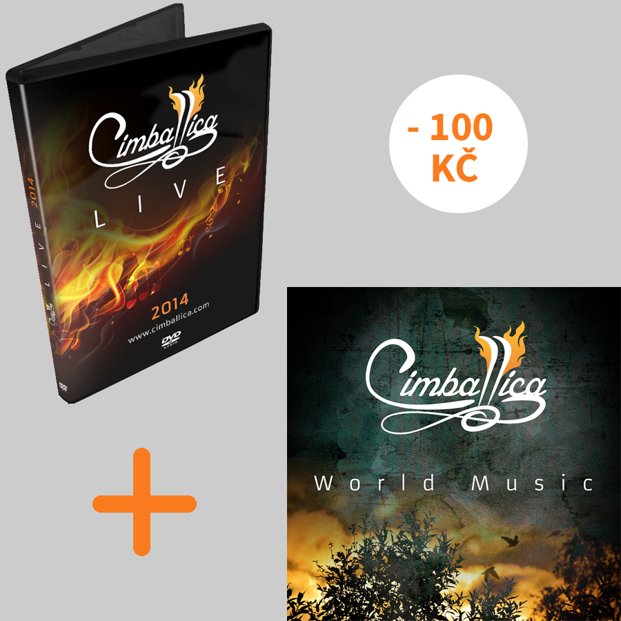 Cimballica DVD Live + CD World Music